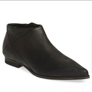 "Free People > ""Desert Rider"" Black Ankle Bootie"